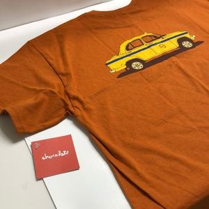 "Chocolate ""TAXI"" Tee Sz Large *NEW*"
